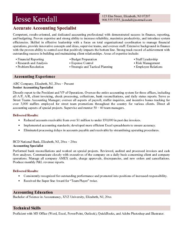 Treasury Specialist Cover Letter