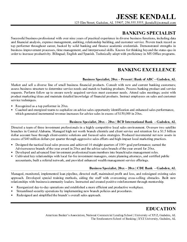 Business Analyst Sample Resume India Pinterest  Professional Business Resume Template