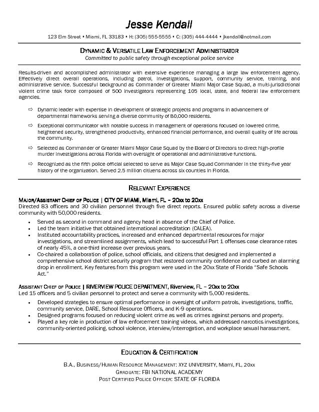 Great Police Officer Resume Samples Template Anuvrat Info